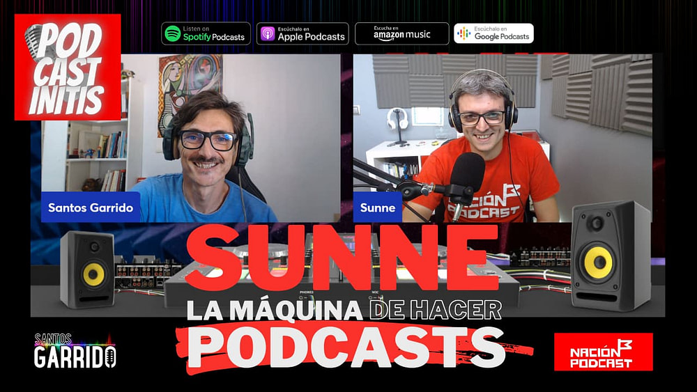 Sunne la máquina de hacer podcasts