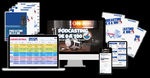 Curso Podcasting de 0 a 100